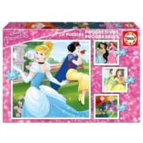 Puzzle Disney Hercegnők 4 az 1-ben Educa