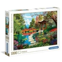 Puzzle Fuji Japán kert 1000 db-os Clementoni