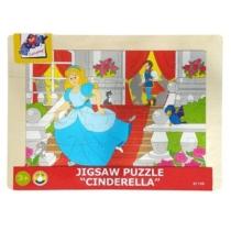 Puzzle Hercegnő fa 24 db-os Woody
