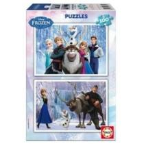 Puzzle Jégvarázs 2 az 1-ben 2x100 db-os Educa