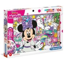 Puzzle Minnie és az ékkövek 104 db-os Clementoni
