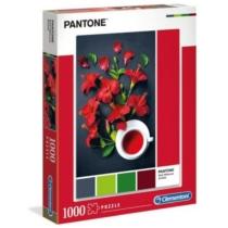Puzzle Pantone Vörös Hibiscus Aroma 1000 db-os Clementoni