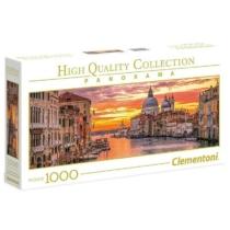 Puzzle Velencei csatorna Panoráma 1000 db-os Clementoni
