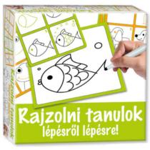 Rajzolni tanulok készségfejlesztő játék Állatos