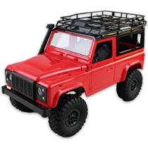 Rock Crawler Off-Road terepjáró távirányítós piros R/C 1:12