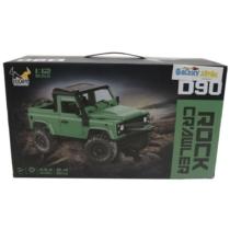 Rock Crawler Off-Road terepjáró távirányítós zöld R/C 1:12