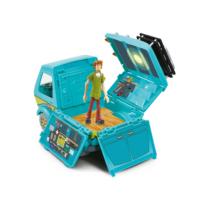 Scooby Doo The Mystery Machine busz és figura szett