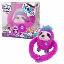 Slowy táncoló plüss lajhár pink Party Pets
