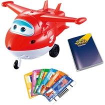 Super Wings Beszélő játékrepülő, Jett