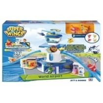 Super Wings Nagy repülőtér, bázis játékszett