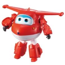 Super Wings Átalakuló repülő és robot, Jett (nagy)