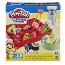 Sushi játék gyurma szett 9 db-os Play-Doh Kitchen Creations