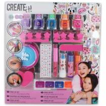 Szépségápoló szett Create it! Make-Up szett Színváltós csillogós