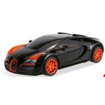 Távirányítós autó Bugatti Veyron 16.4 Grand Sport Vitesse műanyag RC fekete 1:24