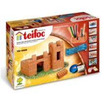 Tégla építőjáték alap vár szett 85 db-os teifoc