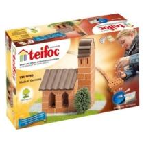 Tégla építőjáték templom szett 75 db-os kiegészítőkkel teifoc