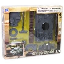 Tiger 1 katonai tank fekete 1:32