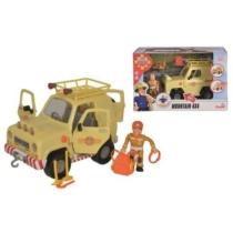Tom 4x4-es terepjáró autó figurával és kiegészítőkkel elemes