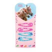 Top model Horses Dreams lovas Hajcsat 2 kék és 2 rózsaszín (4 db-os)