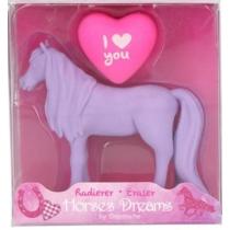 Top model Horses Dreams lovas radír szett (2 fajta) lila