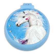 Top model Miss Melody lovas Összecsukható hajkefe kék