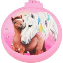 Top model Miss Melody lovas Összecsukható hajkefe pink