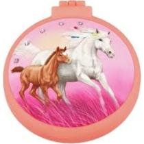 Top model Miss Melody lovas Összecsukható hajkefe rózsaszín
