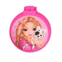 Top model Összecsukható Hajkefe tükrös Christy pink
