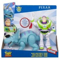 Toy Story Buzz Lightyear és Trixie figurák