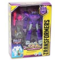 Transformers Bumblebee Cyberverse Adventures Shockwave figura kiegészítőkkel