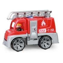 Truxx Tűzoltóautó műanyag figurával 26 cm