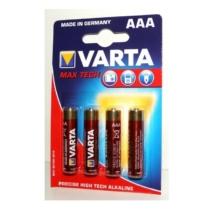 Varta Longlife Maxpower Alkaline elem AAA LR03 1.5V