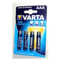 Varta Longlife Power Alkaline AAA LR03 elem 1.5V