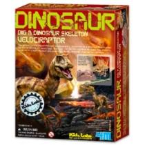 Velociraptor régész játék szett 4M Kidz Labs