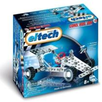 Versenyautó mini építőjáték 100 db-os szerszámokkal fém Eitech