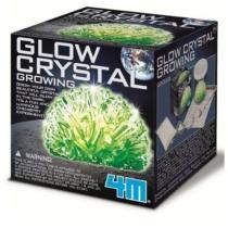 Világitó kristálynövesztő készlet 4M