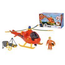 Wallaby helikopter figurával és kiegészítőkkel