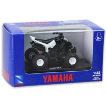 Yamaha Raptor 660 R fehér fém quad műanyag borítással 1:32