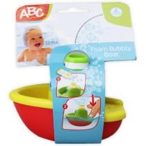 ABC Foam Bubbly Boat buborék készítő hajó citromsárga-piros műanyag