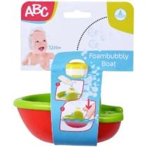 ABC Foam Bubbly Boat buborék készítő hajó zöld-piros műanyag