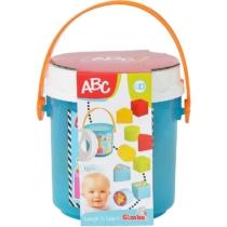 ABC formarendező doboz kék műanyag