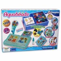 Aqua Beads Deluxe studio készlet 24 színnel 1300 db-os