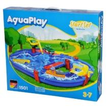 AquaPlay StartSet vizes játékszett 21 db-os 68x65 cm - 1501