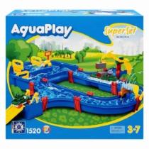 AquaPlay Super vizes játékszett 41 db-os 105x115 cm - 1520