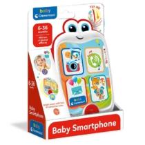Clementoni Baby Smartphone gyermek okostelefon hanggal és fénnyel műanyag