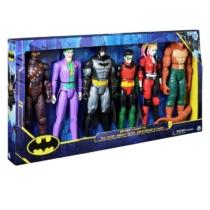 Batman és Robin DC karakter szett 6 db-os 30 cm műanyag