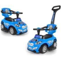 Bébitaxi 3 az 1-ben rendőr sportautó kék