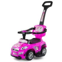 Bébitaxi 3 az 1-ben hercegnős sportautó rózsaszín