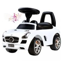 Bébitaxi Mercedes SLS AMG hanggal fehér