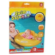 Bestway Felfújható beülős baby úszógumi sárga 69 cm